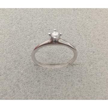 Inel din aur alb cu diamant